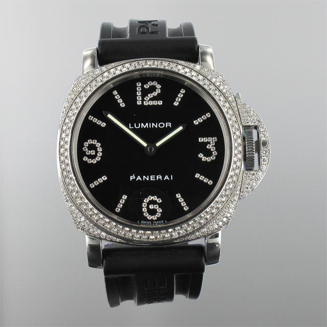 Panerai Luminor Diamond Steel