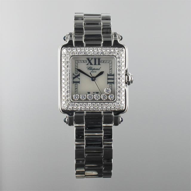 Chopard Happy Sport Square 7 Floating Diamonds