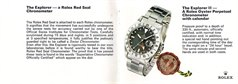 Rolex Explorer Orange Hand Straight Second, 1655