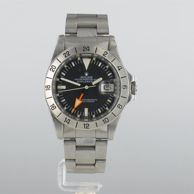Rolex Explorer Orange Hand Straight Second