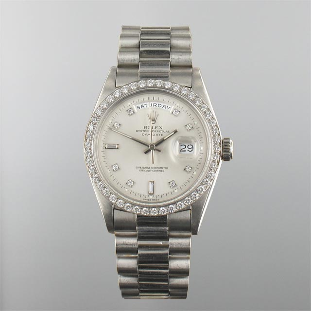 "Rolex Day Date ""King"" Diamond Dial"