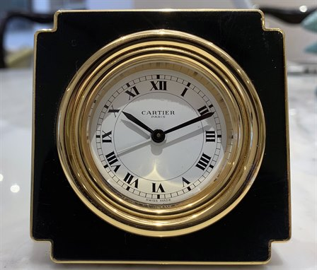 Cartier Desk Alarm Clock