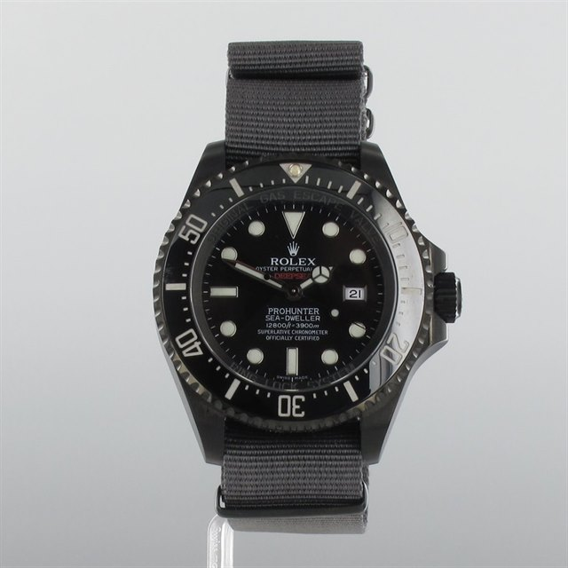 Rolex Pro Hunter Single Red Military Deepsea