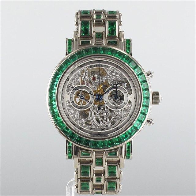 Breguet Emerald Classique Open Worked Piece Unique