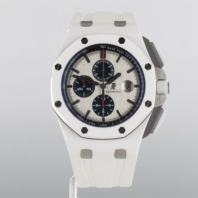 Audemars Piguet Royal Oak White Ceramic Offshore Chronograph