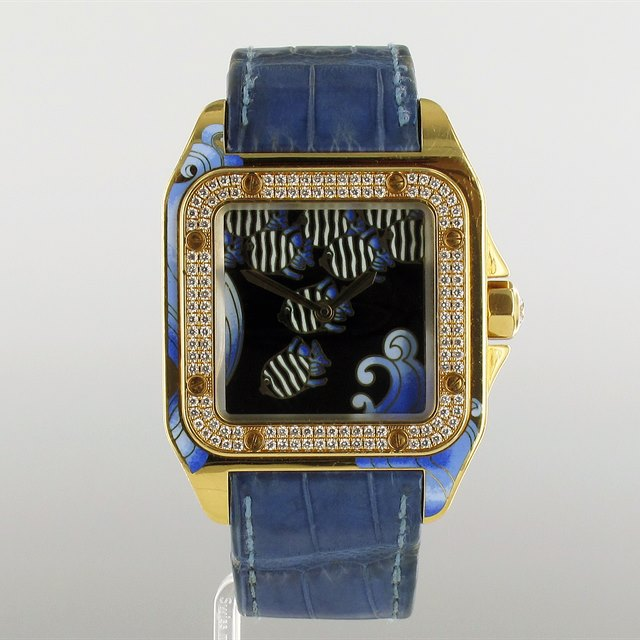 Cartier Santos D'Art 'Sea-Dweller'!