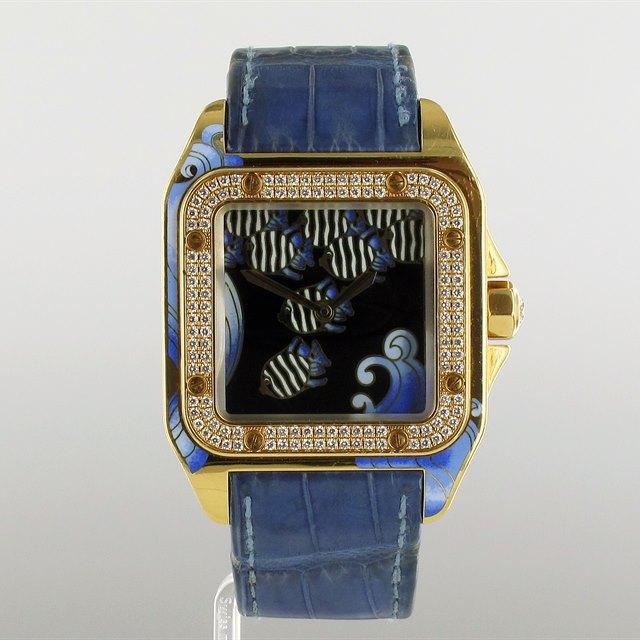 Cartier Santos D'Art 'Sea-Dweller'!