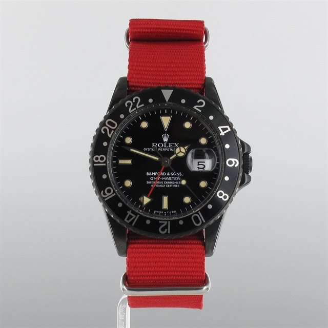 Rolex GMT-Master Bamford Edition