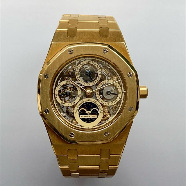 Audemars Piguet Royal Oak Skeleton Perpetual 18k Yellow Gold
